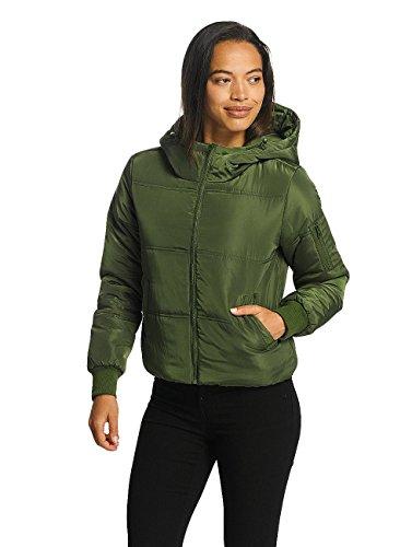 invierno Cropped YONG Hoody JACQUELINE Chaqueta de Mujeres de Verde jdyRocca Chaquetas BBnTYF