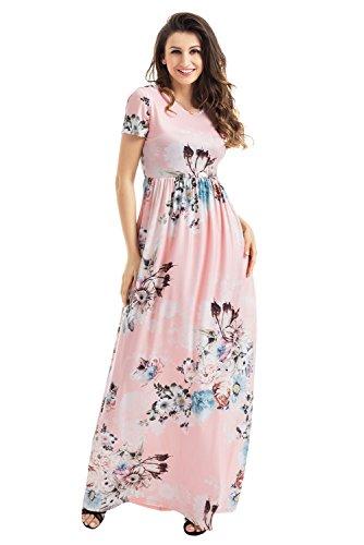 Buy belted blush maxi dress - 2