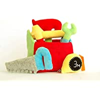Tool Box Gift for One Year Old Boy Plush Hammer Baby Rattle