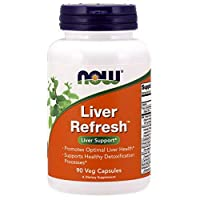 Now Foods Liver Refresh - 90 Veggie Capsules (Pack of 4)