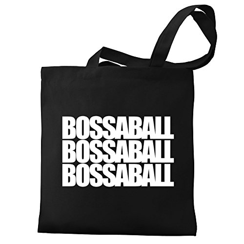 Eddany three Canvas words Eddany Bossaball Tote Bag Bossaball 54wtq