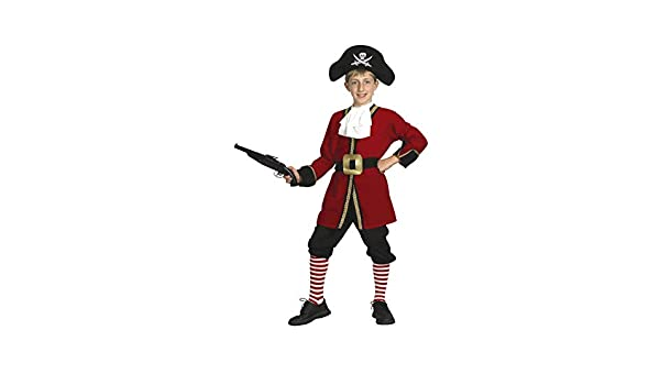 EL CARNAVAL Disfraz Capitán Garfio Pirata Talla de 8 a 10 ...
