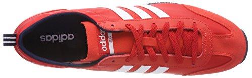Adidas Herren Vs Jog Gymnastikschuhe Marciume (nucleo Rosso / Calzature Bianco / Navy Collegiale)
