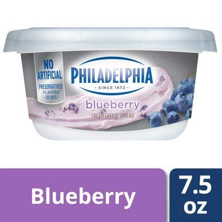 Expect More Philadelphia Blueberry Cream Cheese Spread, 1 ct. / 7.5 oz ()