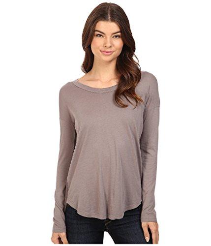 Splendid Women's Drop Sleeve Jersey Top Titanium T-Shirt XL (Women's 14-16)