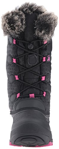 Kamik Snowgypsy Boot (Toddler/Little Kid/Big Kid) Black/Magenta