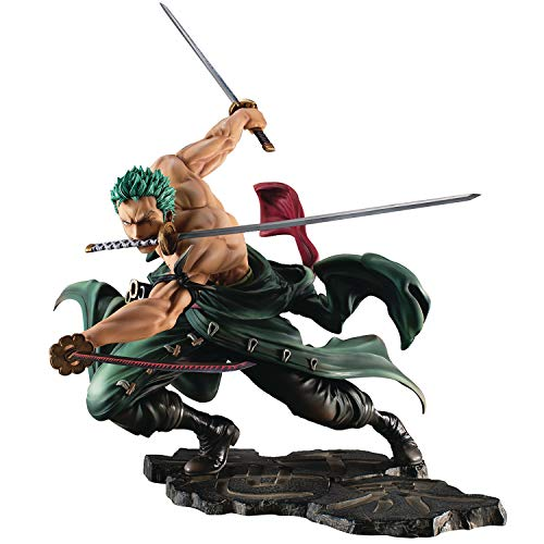 (Megahouse One Piece Portrait of Pirates: Sa-Max Roronoa Zoro (San Zen Version) PVC Figure)