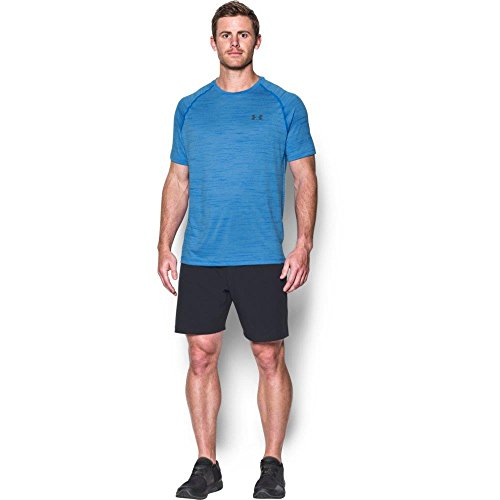 Under Armour Men's Tech Short Sleeve T-Shirt, Mako Blue/Graphite, XXX-Large