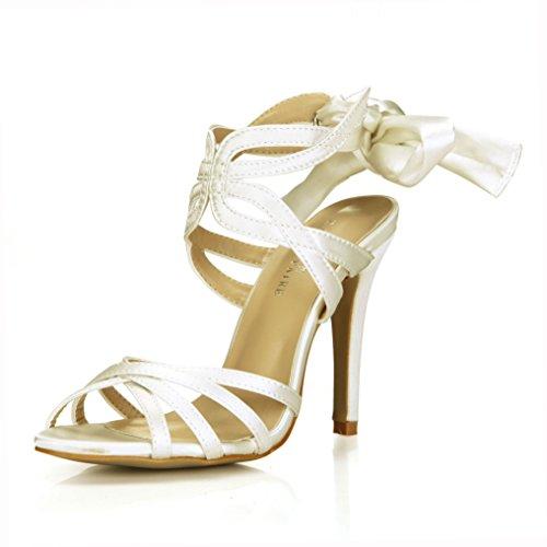Belles Femme Grands Nouveaux Fleurs Plus Dîner Pour De chaussures Sandales Produits Haut La Chaussures Boucle Ceinture Femmes Opal Le Talon Élégantes IqdZ56w6