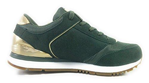 Vert Skechers pour Baskets Vert Femme qSU47