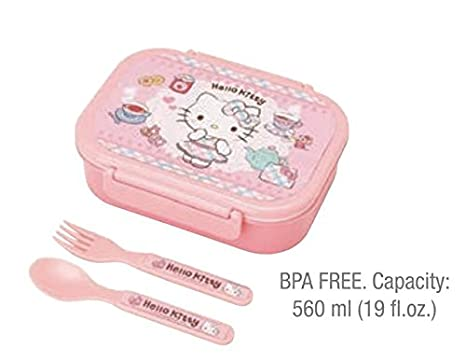 Amazon.com: hello kitty Sanrio almuerzo contenedor: merienda ...