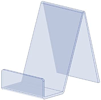 Eposgear 40 X Small Clear Acrylic Book Plate Retail Display Stands Stunning Book Display Stand Uk