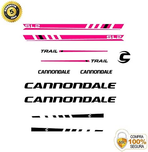 Vinyl Bike Sticker Set Cannondale Trail 2 Stickers Bike Frame Bike Mountain ADHESIVOS MOTOS CLASICAS Bike Stickers Bike Decorative Sticker