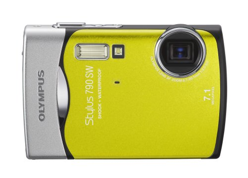 Olympus Stylus 790SW 7.1MP Waterproof Digital Camera with Du