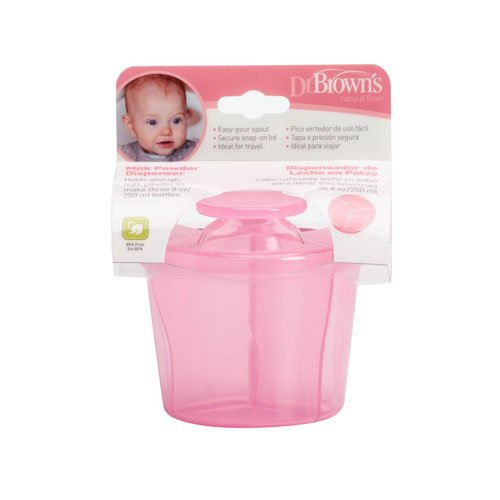 Dr Brown's Options Milk Powder Dispenser, Pink Dr Browns 72239302644