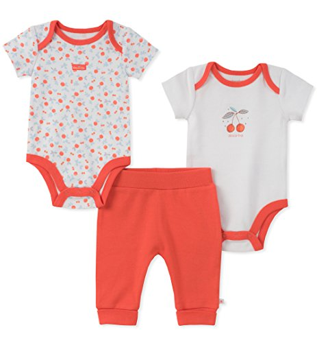 absorba Baby Girls Creeper Pant Set