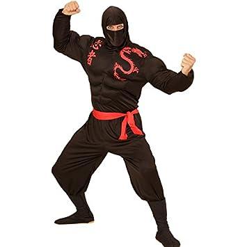 Disfraz Ninja Guerrero Samurai energía Bandit combate ...