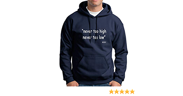 SONSECAR Sudadera Never Too High Never Too Low. Ricky Rubio. M: Amazon.es: Ropa y accesorios