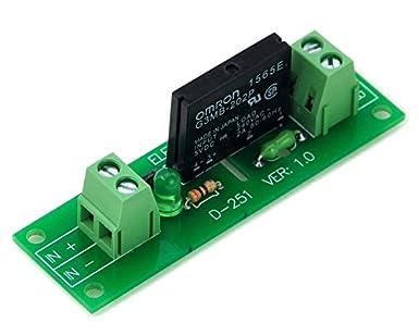 electronics salon one channel ssr solid state relay module board rh amazon com