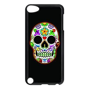 Ipod Touch 5 Phone Case for Classic Theme RED SKULL pattern design GCTRSL993810
