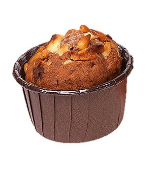Frestanding Paper Baking Cup Brown - 2.6''x 1 7/16'' - 3360pcs by Pastry Chef's Boutique