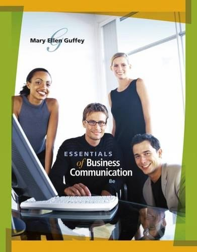 Essentials of Business Communication (with www.meguffey.com Printed Access Card)