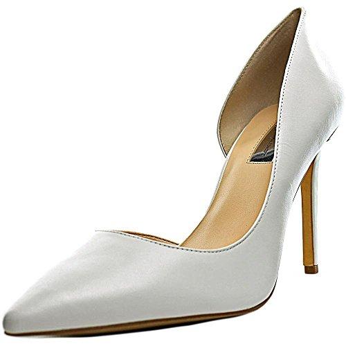 INC International Concepts Frauen KENJAY3 Spitzenschuhe D-orsay Pumps Bright White