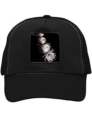 Unisex Broad-Leaved Epiphyllum Adjustable Classic Hiphop Hat Baseball Cap Snapback Dad Hat