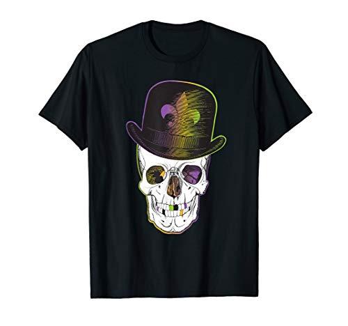 New Orleans Creole Voodoo Skull Halloween T-Shirt (Best Jazz On Frenchmen Street New Orleans)