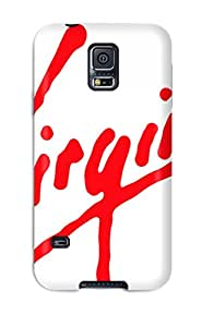 Ideal Galaxy Case Cover For Galaxy S5 Virgin Logo Protective Stylish Case