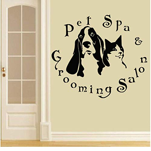SSHNGM-Pet-Shop-Vinyl-Wall-Decal-Animals-Pet-Spa-Grooming-Salon-Dogs-Cats-Mural-Art-Wall-Sticker-Pet-Salon-Window-Glass-70X79Cm