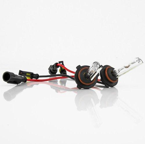 XENTEC 9006 6000K HID Xenon Bulb x 1 pair (HB4, Ultra White)