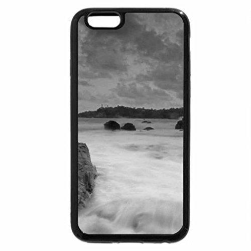 iPhone 6S Plus Case, iPhone 6 Plus Case (Black & White) - Ecume Et Rochers