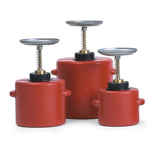 Eagle Poly Plunger Can - 6-1/2