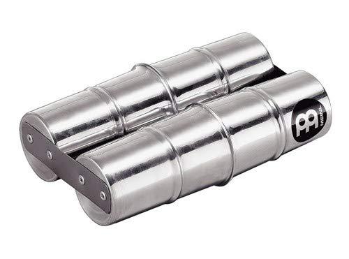 Meinl Percussion SSH2-S Aluminum Double Samba Shaker, Small