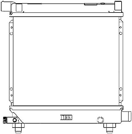BEHR HELLA SERVICE 8MK 376 710-634 Radiador, refrigeración del motor