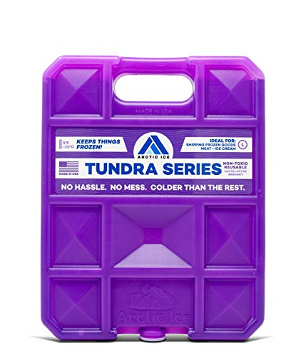 ARCTIC ICE Tundra Series Reusable Cooler Pack, Reusable Ice Packs for Coolers, Long Lasting Ice Pack, Large Ice Pack (Series Dakota Outdoor)