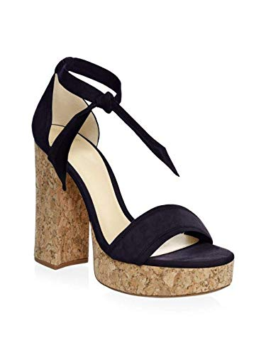 03b99001236 Image Unavailable. Image not available for. Color  Alexandre Birman Celine  Suede Platform Sandals 40.5