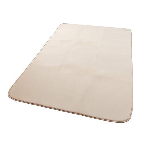 mofua ( モフア ) ラグ うっとりなめらかパフ 低反発 185×240cm ( 約3畳 ) アイボリー 55865008