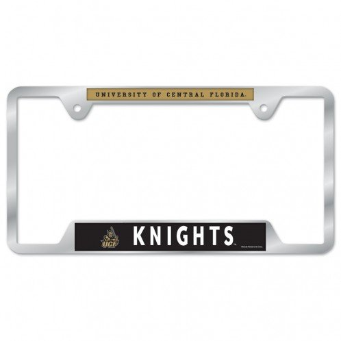 WinCraft NCAA University of Central Florida Metal License Plate Frame
