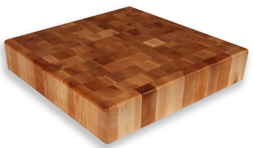 Maple End Grain Chopping Block 18 x 18 x 3 1/2