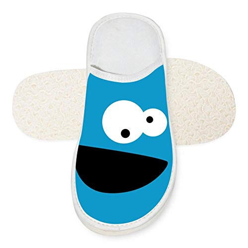 SlindFun House Slippers Cookie Monster Unisex Autumn Winter