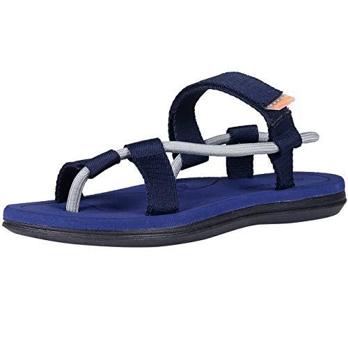 - Leisurely Pace Men & Women Arch Support Strap Flat Sandals Light Weight Beach Flip Flops(41, Bluestrap)