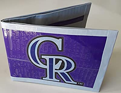 Colorado Rockies MLB Baseball Bi-Fold Duct Tape Wallet