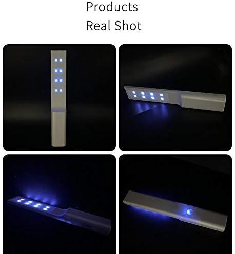 Zcyg Stérilisateurs, Désinfection par rayonnement Ultraviolet Lampe Portable Pliable Rapidement Lampe Efficacement désinfection UV des ménages for Hôtel Maison Voyage