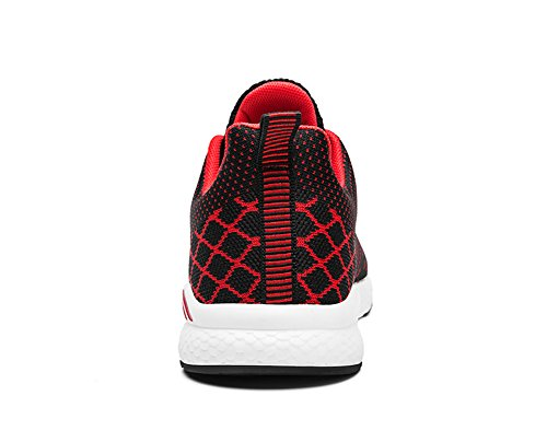 Men Sneakers Running up Lace No 66 Fitness Shoes Red Flyknit Town Flat xTnTRfC