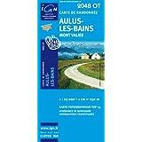 Aulus-les-Bains : 1/25 000 (Top 25 & série bleue - Carte de randonnée)