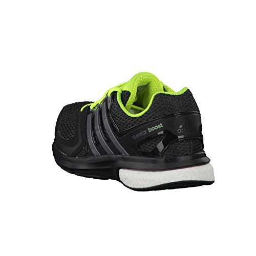 premium selection d2354 9016c ... adidas Questar Boost M - Zapatillas para hombre Negro  Plata  Lima ...
