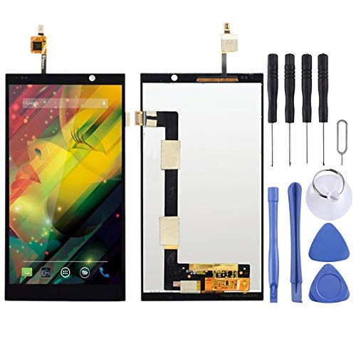 ZENGMING Repair Parts LCD Screen and Digitizer Full Assembly for HP Slate 6 (Black) Phone Replacement Parts (Color : Black, Size : One Size)