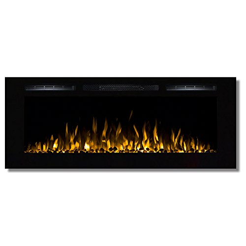 Ventless Electric Fireplace Mantel - Regal Flame Fusion 50